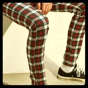 UO Tartan Skinny Pant, NWT